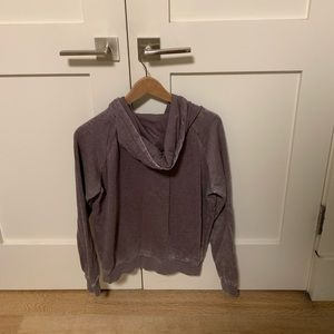 Zumiez Tops - purple hoodie